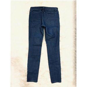 PRANA Dark Wash Skinny Jeans